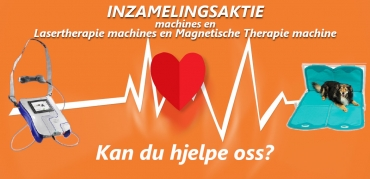 Inzamelingsaktie Voor Lasertherapie Machines En Magnetische Therapie Machine